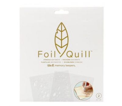 "Foil Quill Freestyle - Schablonen ""Sentiments"""